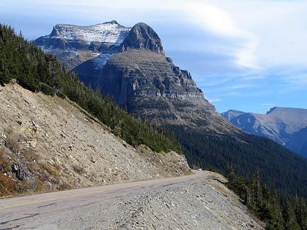 Going to the sun road Montana - Best U.S driving Roads, Road trip routes.