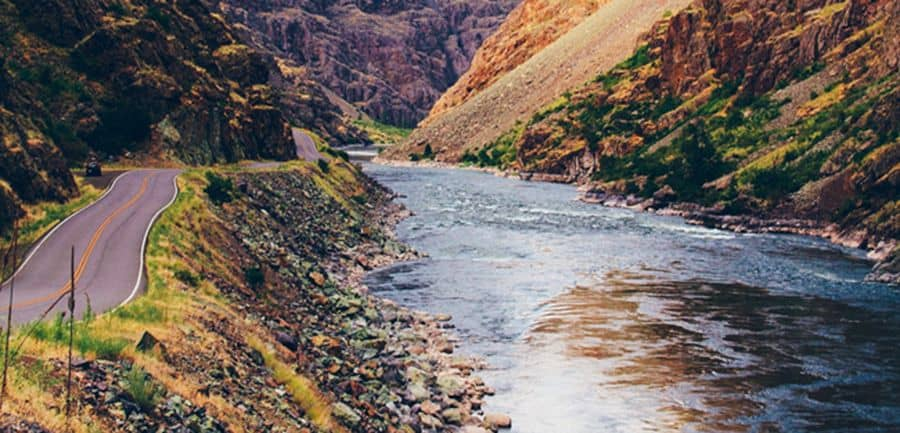 Hells Canyon Road Idaho - Best U.S Driving roads, Road trip Ideas.