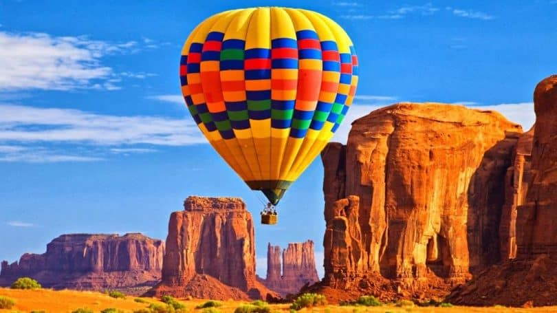 Hot Air Balloon Ride grand canyon