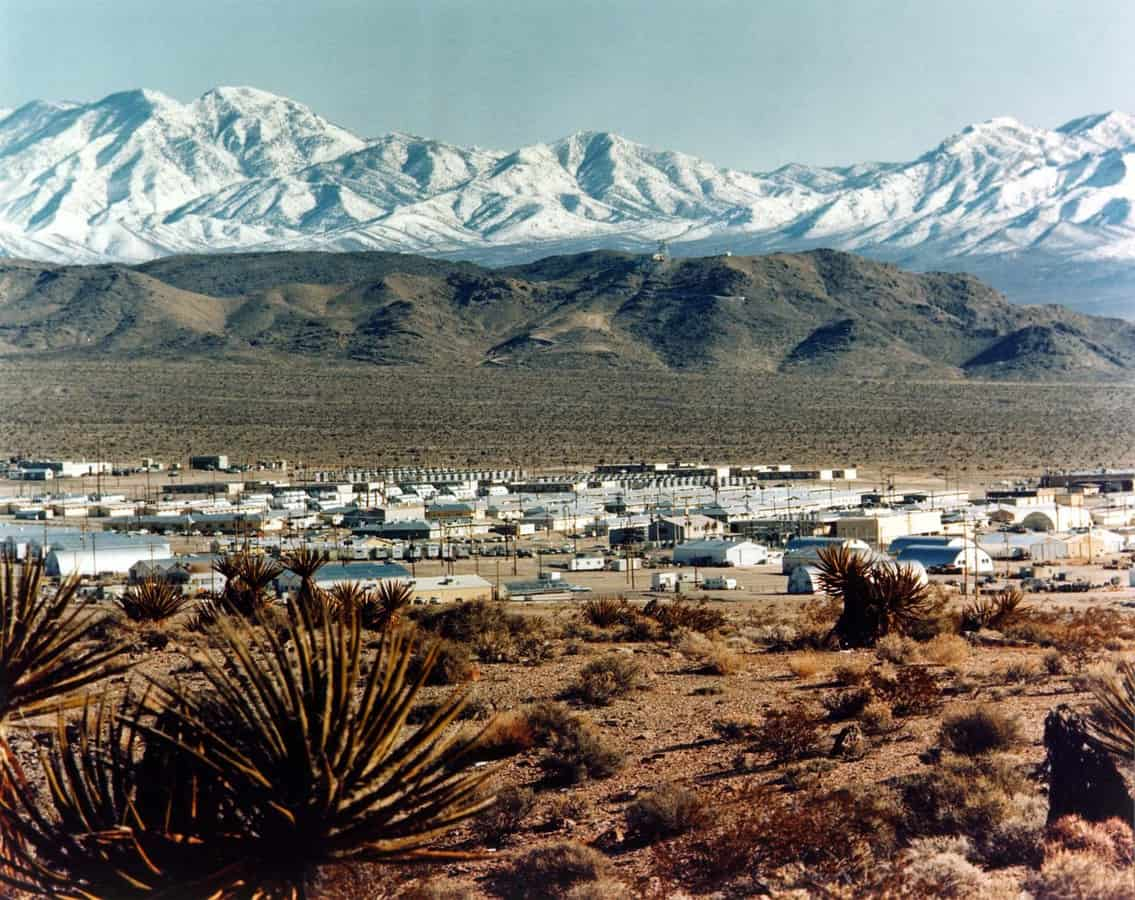 Mercury Nevada (Hidden Places) U.S.A Restricted Areas