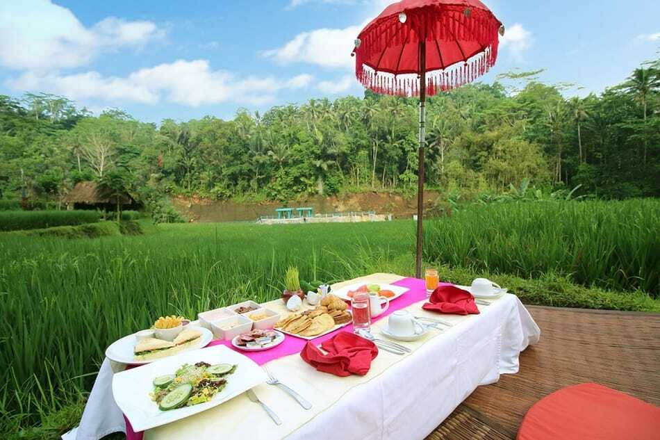 Floating Breakfast at Kupa Kupa Barong Bali