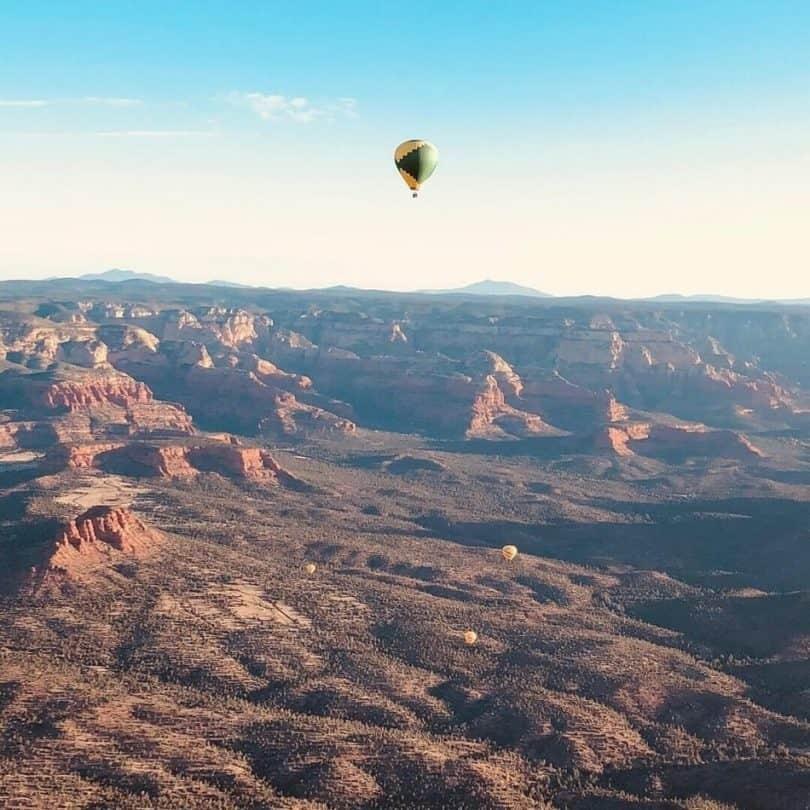 Hot-Air-Balloon Grand Canyon