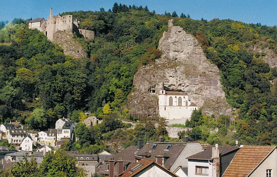 German Mountain Church Felsenkirche, Unique Mountain Churches