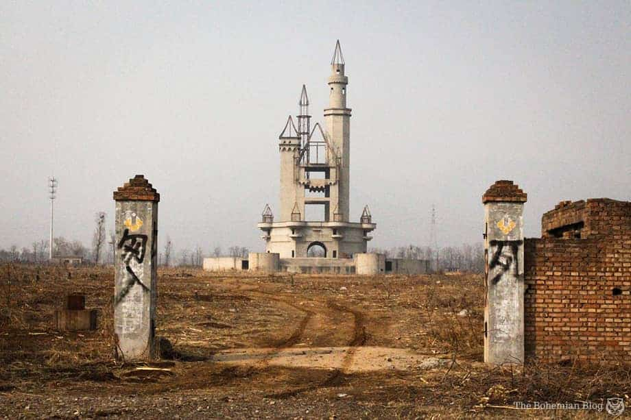 Wonderland China, Abandoned Amusement Park