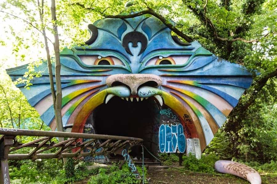 Spreepark Berlin, Germany Abandoned Amusement Park