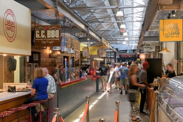 Krog street Market and Food Hall, Atlanta, Georgia , U.S.A