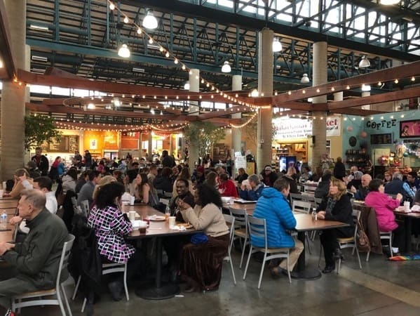 The Market house Food Hall, Nashville Farmers Market, Tennessee , U.S.A