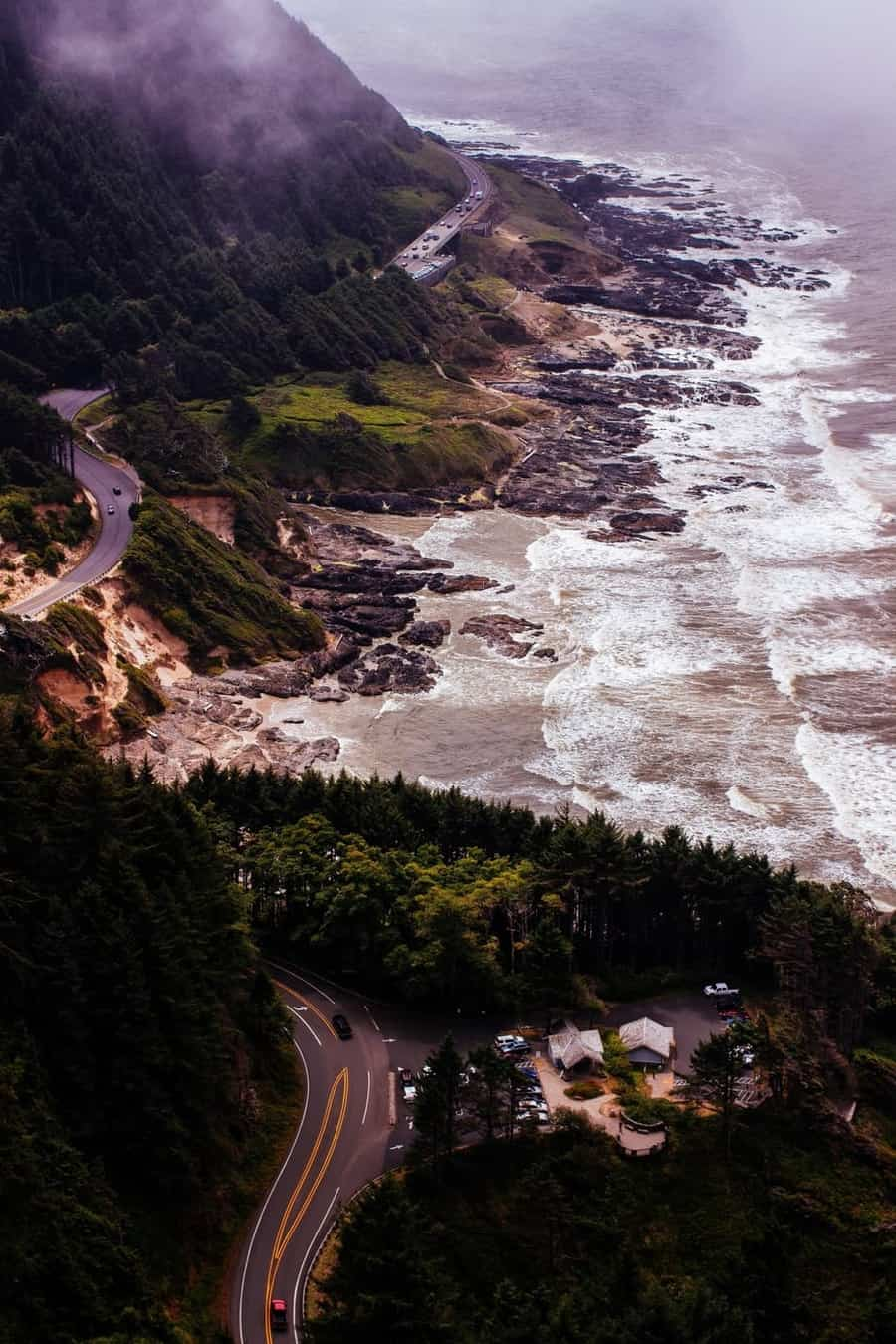 Cape Perpetua Overlook, Oregon, Best U.S Driving roads, Road trip Ideas.