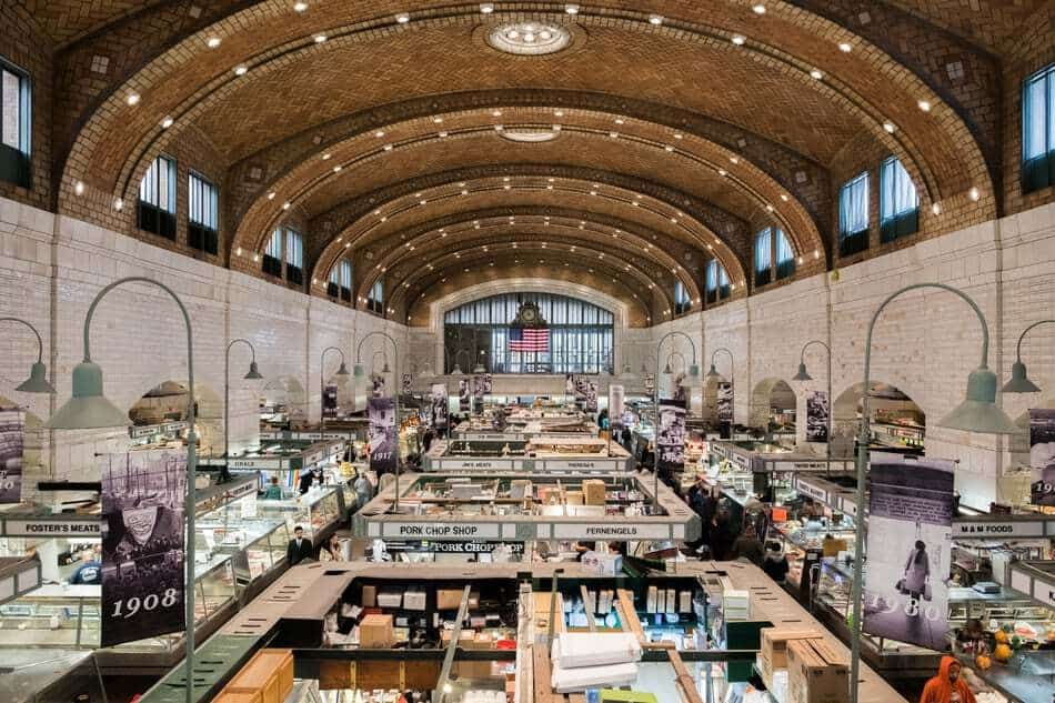 Cleveland West side Market and Food Hall, Cleveland, Ohio, U.S.A