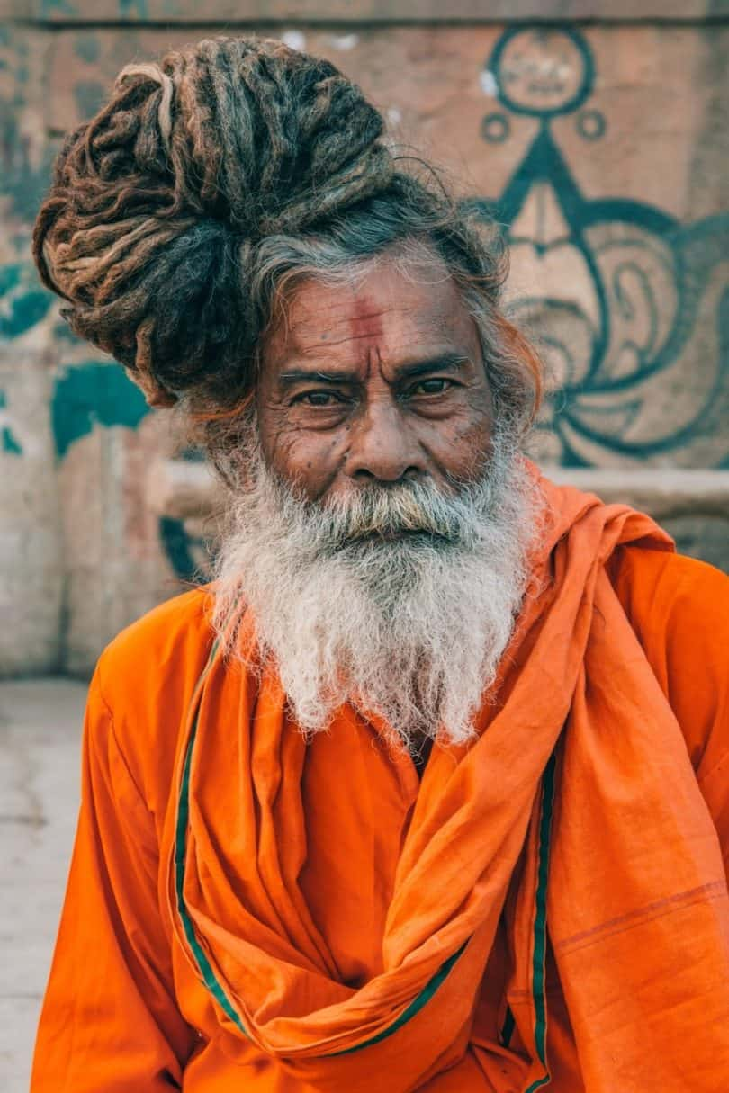 Indian Holy Man, Hindu.