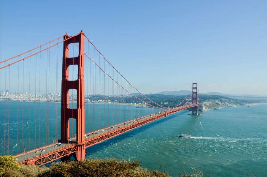 Golden Gate Bridge, San Francisco, Ultimate Motorcycle Road Trip, Best U.S Driving Roads.
