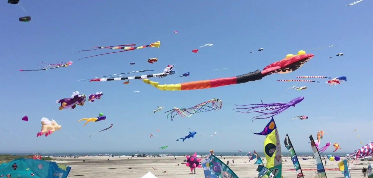Wildwoods International kite festival, New Jersey