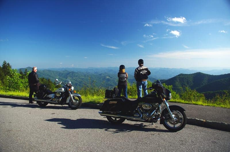 The Wonderful Blue Ridge Parkway, Best U.S.A Motorcycle Roads.