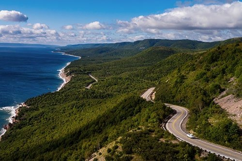 Cabot Trail, Nova Scotia. Best Canadian Road Trips and Motorcycle Roads.