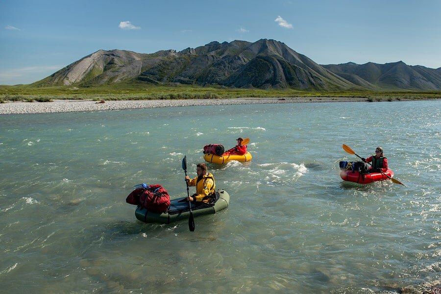 Packrafting Trips in Alaska