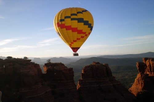 Hot Air Balloon Tour at the Grand Canyon