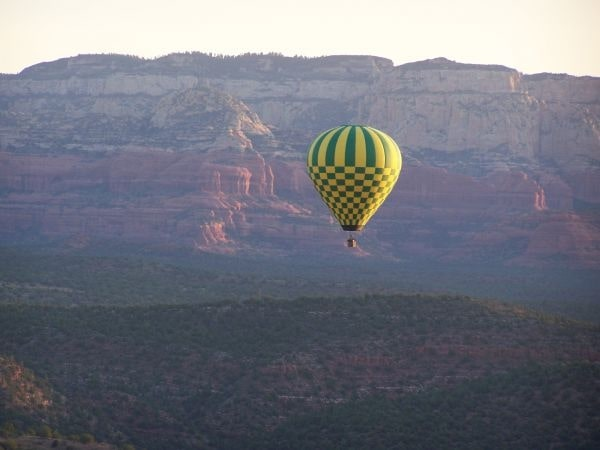 Hot Air Balloon Ride at the Grand Canyon