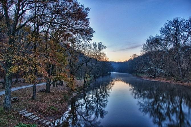 Brandywine Creek, delaware. U.S.A