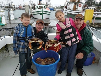Dungeness Crabbing in Northern California