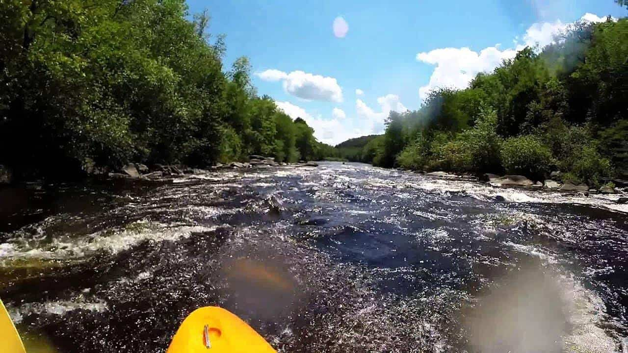 Packrafting trips at Rockport gorge
