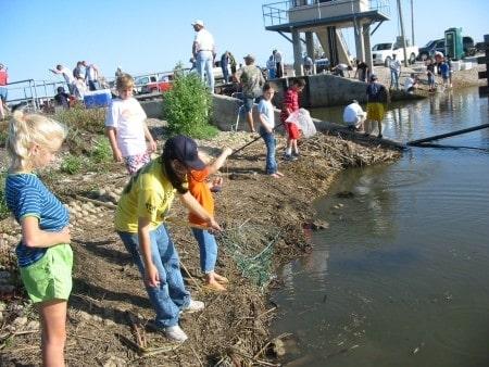 Crabbing in Louisiana