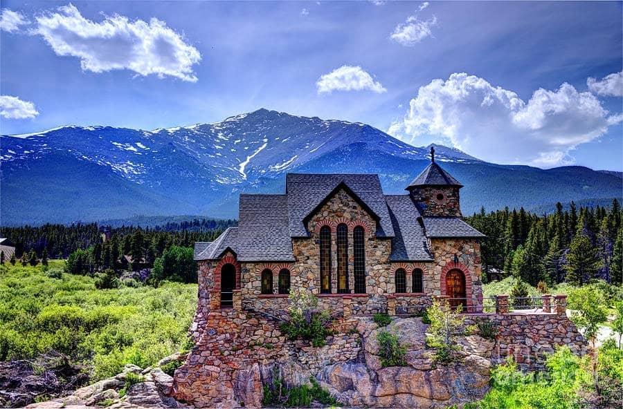 Chapel on the rock, Denver: Unique Mountain Churches