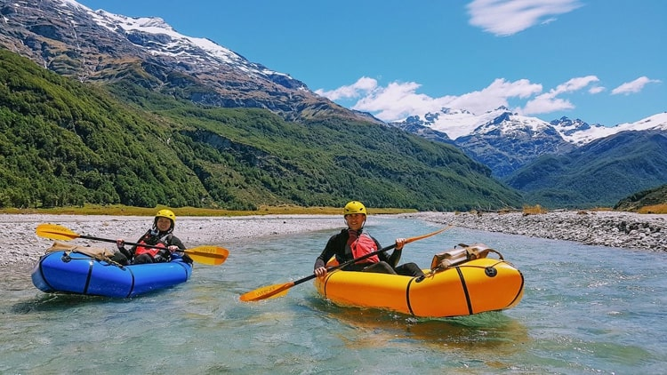 Packrafting in New Zealand