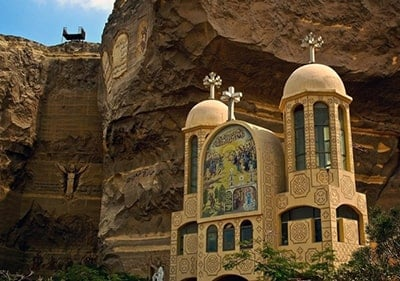 St Samaan Church Cairo, Egypt, Unique church