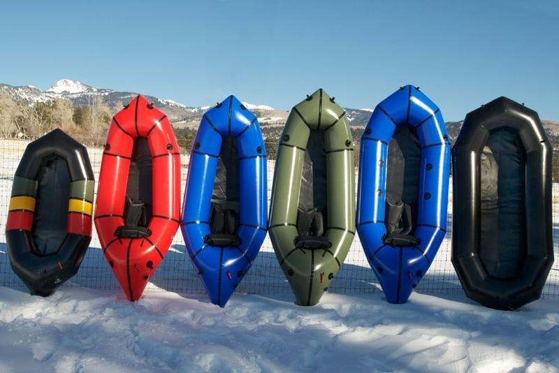 Lightweight Alpacka Rafts