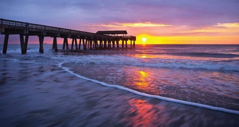 What better place to relax after a long days crabbing, Savannahs, Tybee island. Source: visitsavannah.com