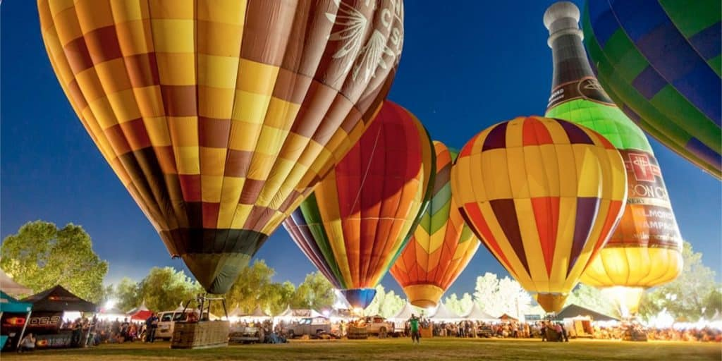 A Fun packed Family Event! At Temecula Valley Balloon and Wine Festival in California.