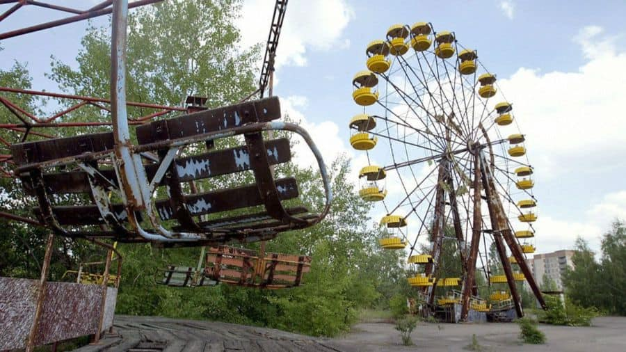 Pripyat Ukraine, Abandoned Amusement Park