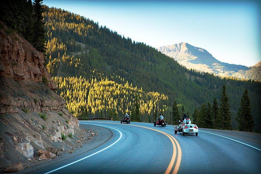 The Best Motorcycle Road Trip in America, San Juan Skyway. Best U.S driving Roads