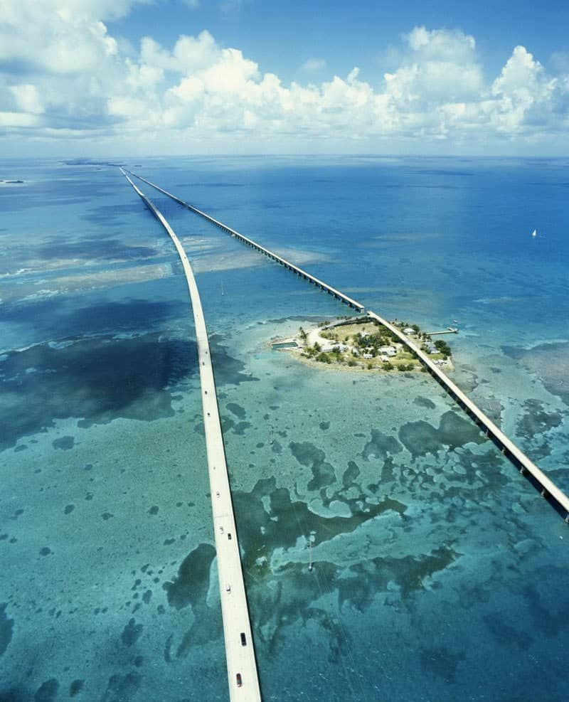 Seven Mile drive, Florida keys Best U.S driving Roads, Road trip routes.