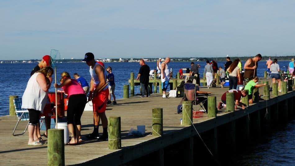 Crabbing at Seaside heights