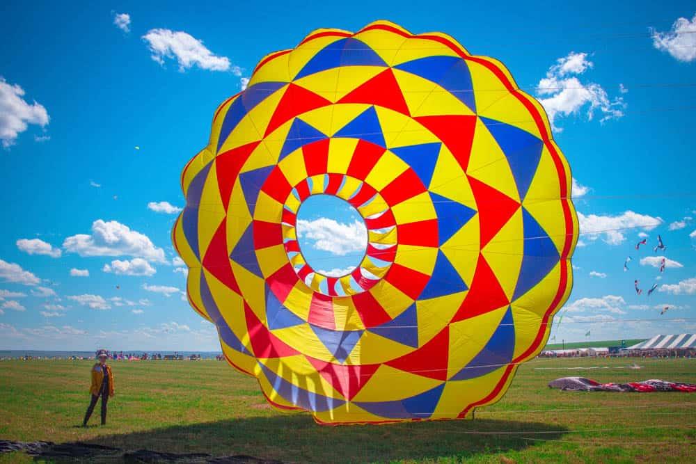 wind scape kite festival Canada