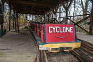 Cyclone Roller coaster, most deadly