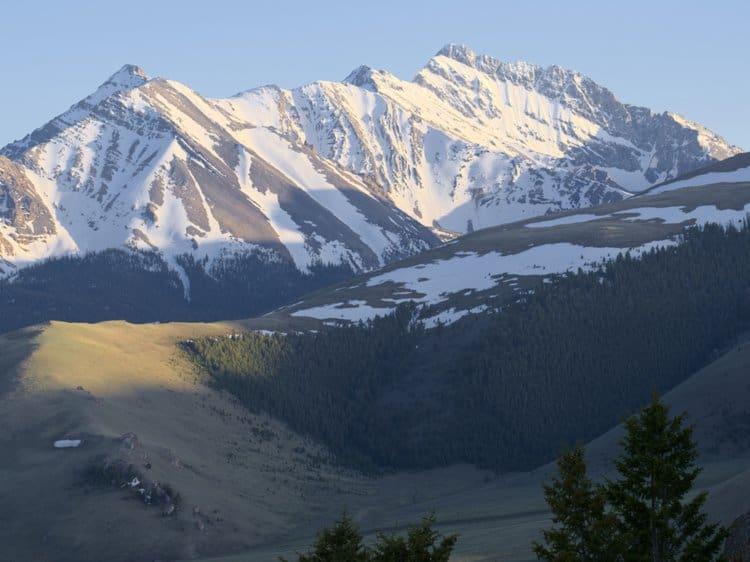 Borah Peak, highest point in Idaho