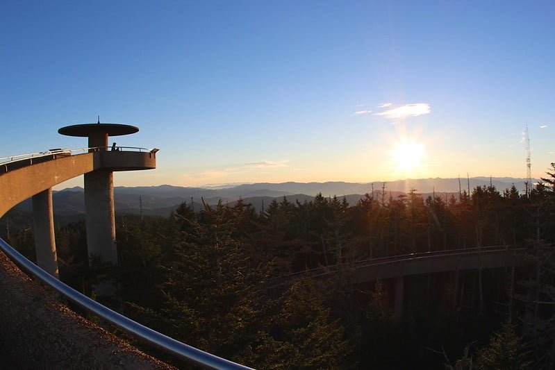 Clingmans Dome, Highest point north Carolina