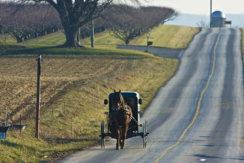 Amish County Virginia.