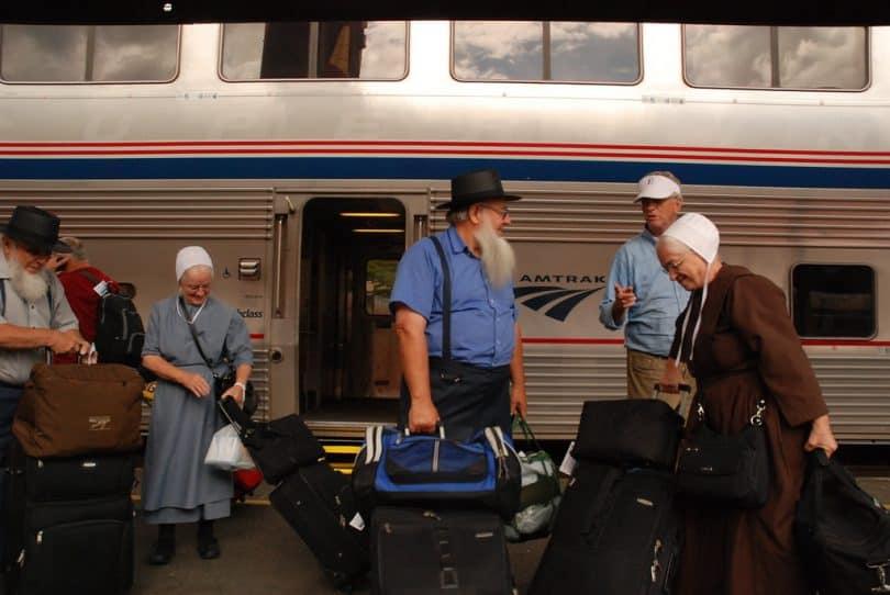 Amish on Coach