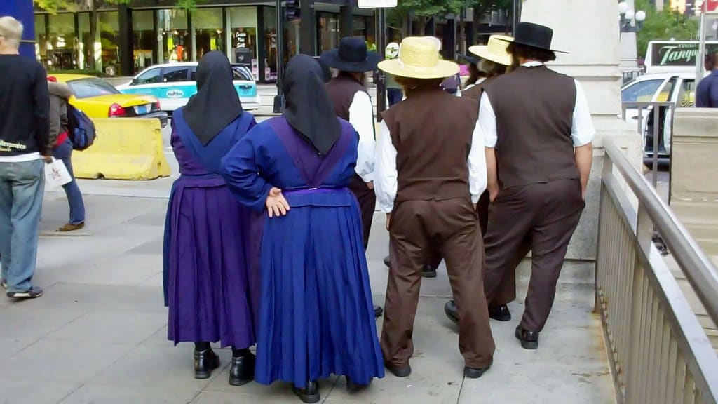 Amish in Chicago.