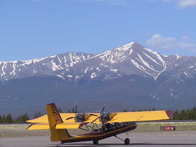 Lake County Airport, Colorado Highest airport in the U.S.A