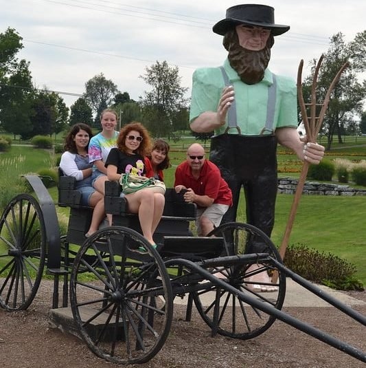 Amish Buggy Ride at Lancaster County
