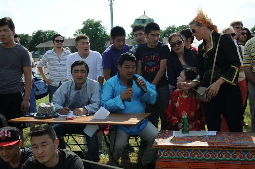 Judges at a local Naadam Festival