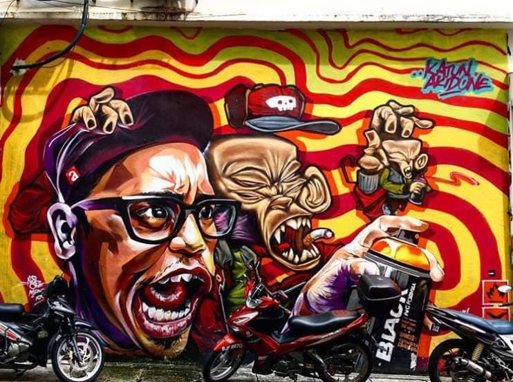 Bangsar Street art