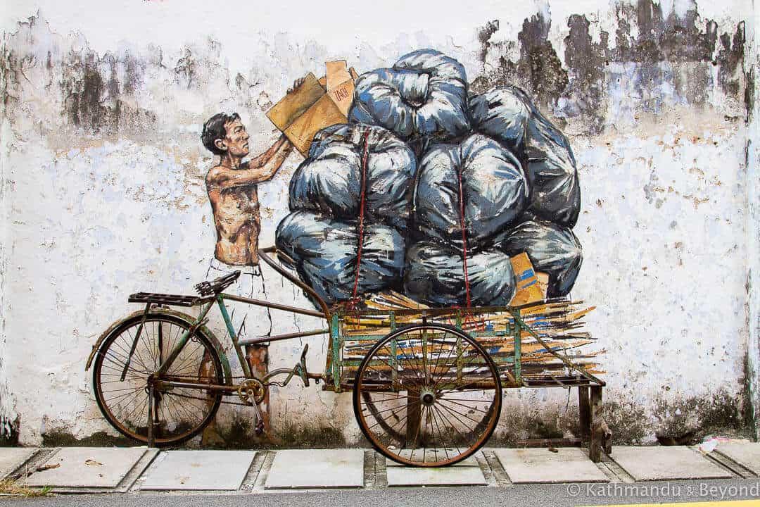 Ipoh street art, Malaysia.