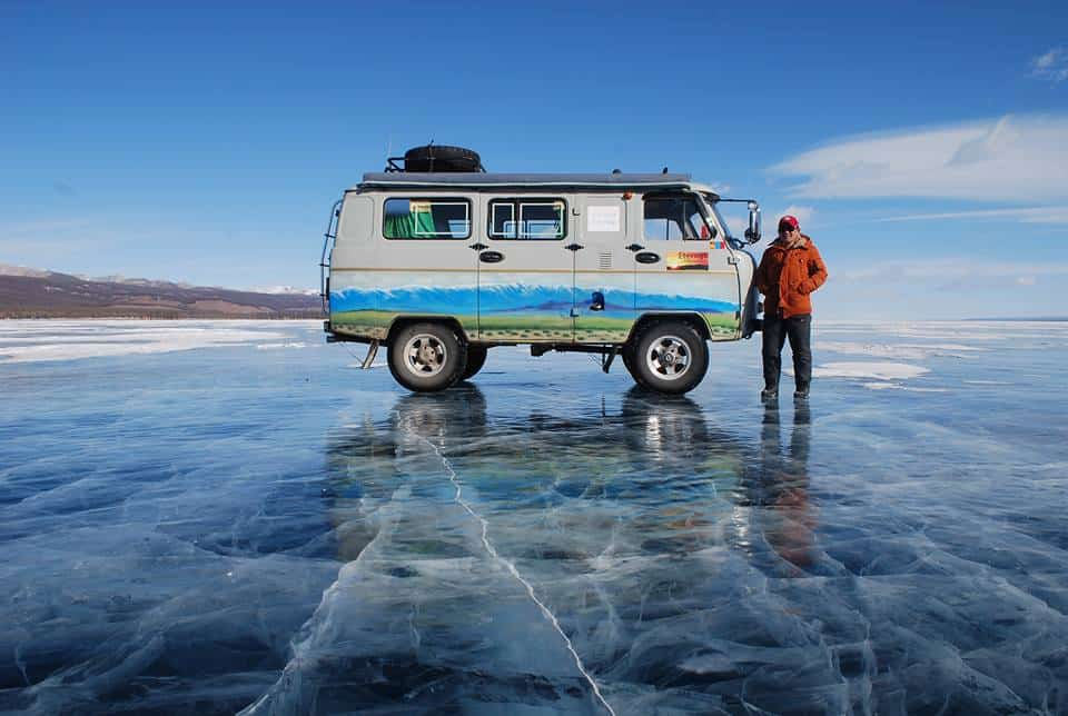 Khovsgol Ice festival Mongolia