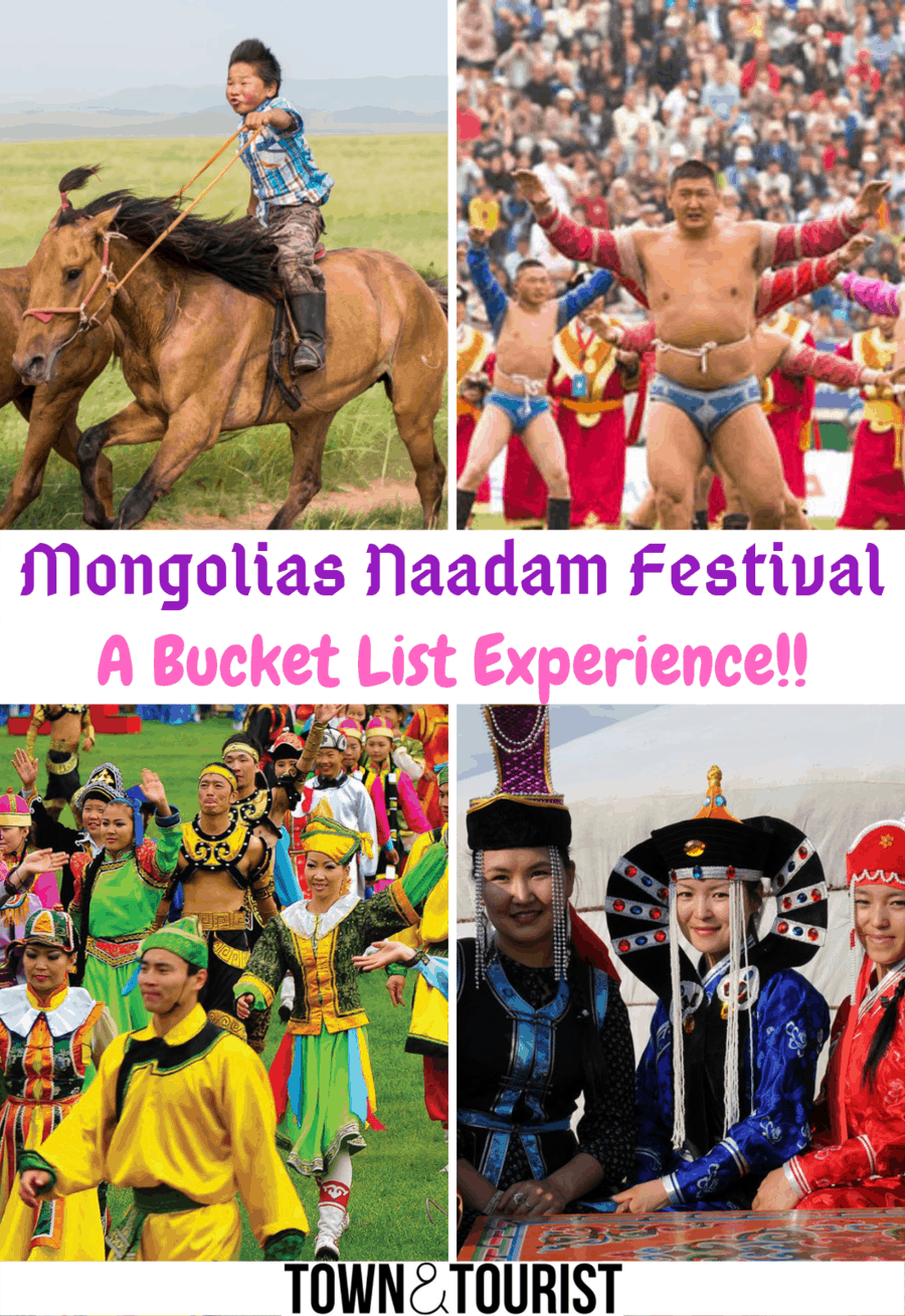 Naadam Festival Mongolia - The ULTIMATE GUIDE! | Town & Tourist