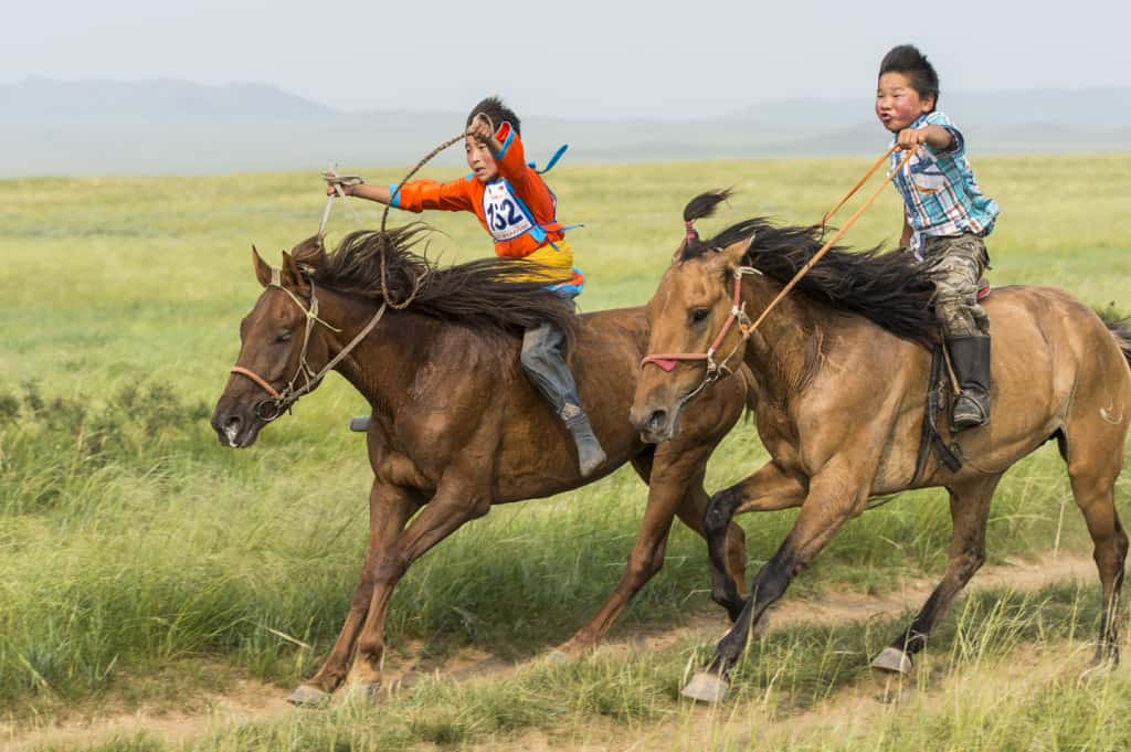 Mongol Derby Naadam Festivla